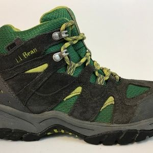 LL BEAN Tek 2.5 Waterproof Hiking Boots Kids Sz 5